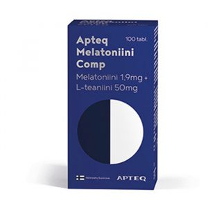 Apteq Melatoniini Comp 1,9 mg 100 tabl.