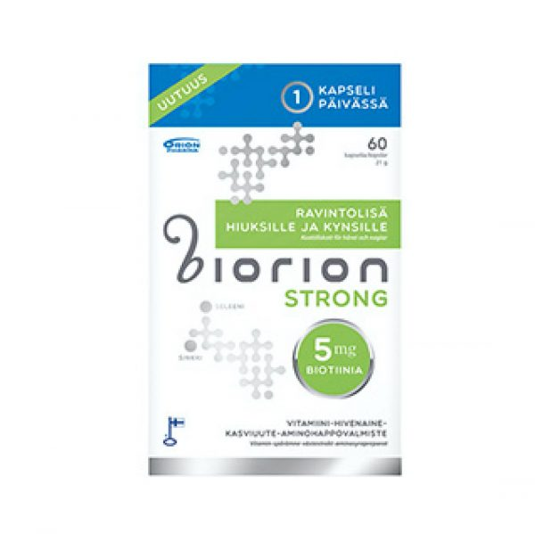 Biorion Strong 5 mg 60 raps.