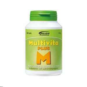Multivita Plus Monivitamiini 200 tabl